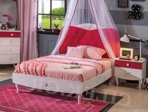 Παιδικό κρεβάτι ημίδιπλο RB-1314