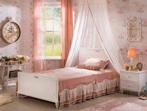 Παιδικό κρεβάτι ημίδιπλο RO-1312