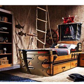 Παιδικό κρεβάτι καράβι KS-1308 – KS-1308