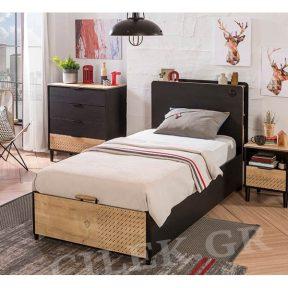 Παιδικό κρεβάτι με αποθηκευτικό χώρο BL-1705 USB CHARGING – BL-1705 USB CHARGING