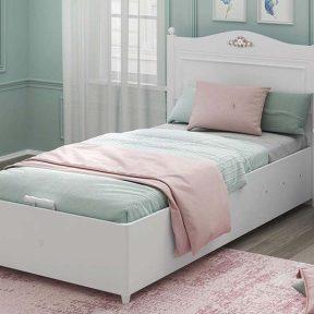 Παιδικό κρεβάτι με αποθηκευτικό χώρο RU-1705