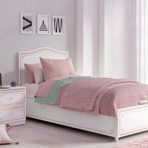 Παιδικό κρεβάτι με αποθηκευτικό χώρο SE-PINK-1705 – SE-PINK-1705