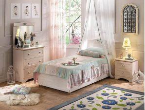Παιδικό Κρεβάτι με αποθηκευτικό χώρο SLF-1705 – SLF-1705